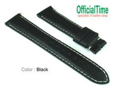 19/16mm Italian Bull Leather Strap (3 colors)