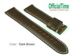 18/16mm Italian Bull Leather Strap (3 colors)