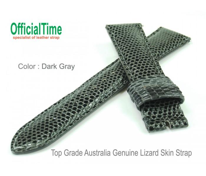19/16mm Australia Lizard Skin Strap (4 colors)