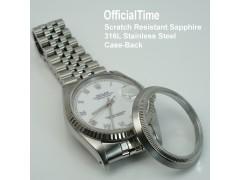 Rolex Datejust - Sapphire Transparent Case-Back