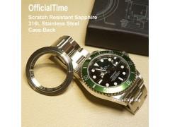 Rolex Submariner #16610 - Sapphire Perspective Case-Back