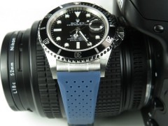 Rolex Submariner Style - 20/16mm Breathable Rubber Strap (7 colors)