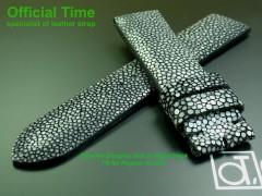 20/18mm Australia Genuine Stingray Skin Strap (2 colors)